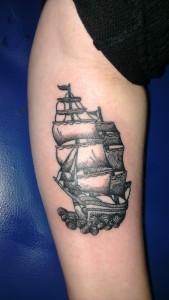 Den Tumi piercing en tattoo (199) boot boat